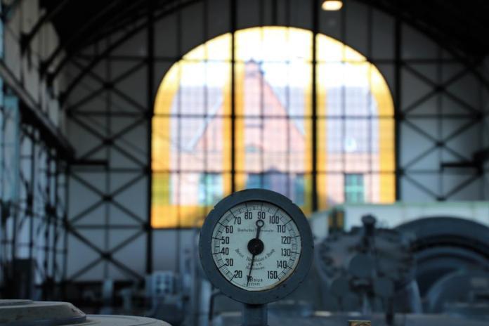 Maschinenhalle Gradmessgerät