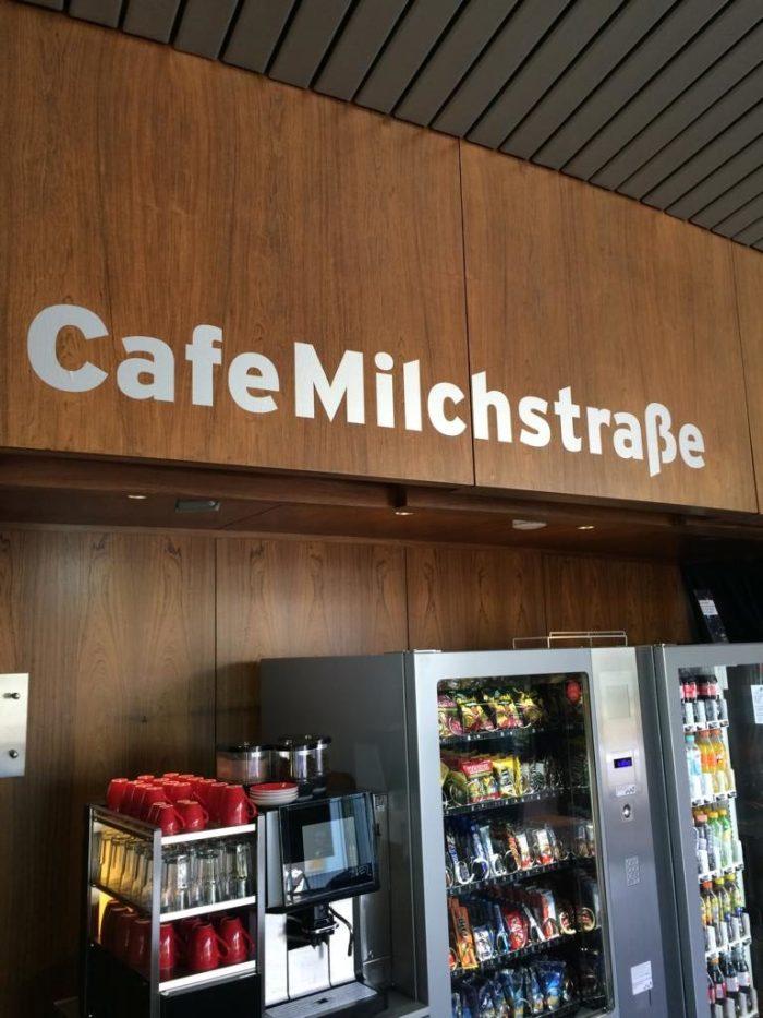 Treffpunkt Cafe Milchstraße im Planetarium