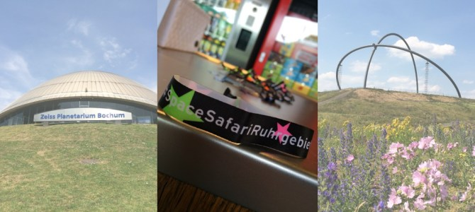 #spacesafariruhrgebiet Recap – Vom Planetarium Bochum zum XXL Freiluftplanetarium Hoheward