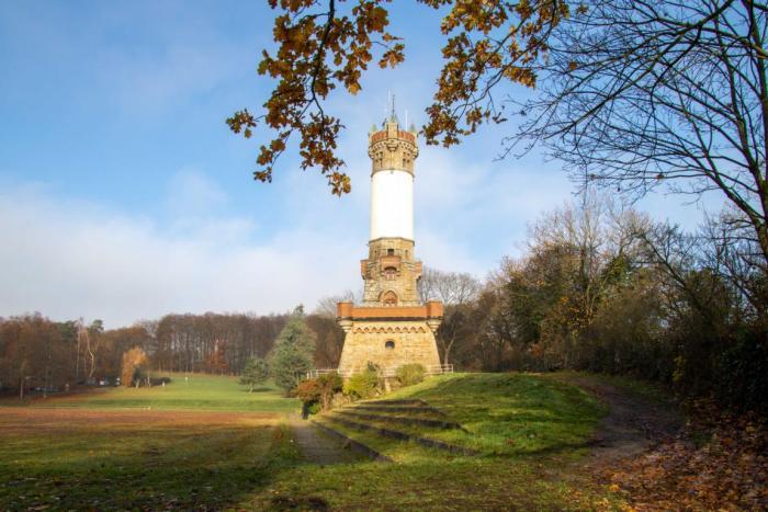Blick auf den Harkortturm