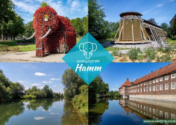 Postkarte Stadt Hamm