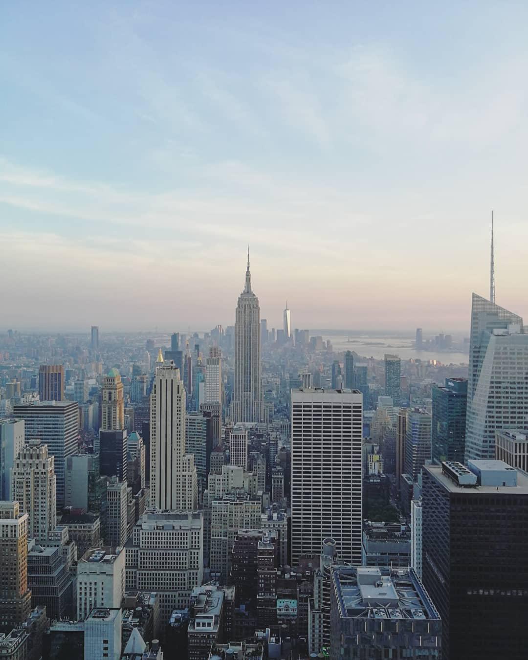 New York vom Rockefeller Center