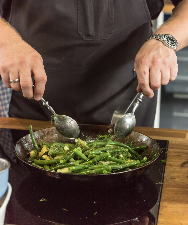 Patrick Jabs Kochschule lecker werden in Essen
