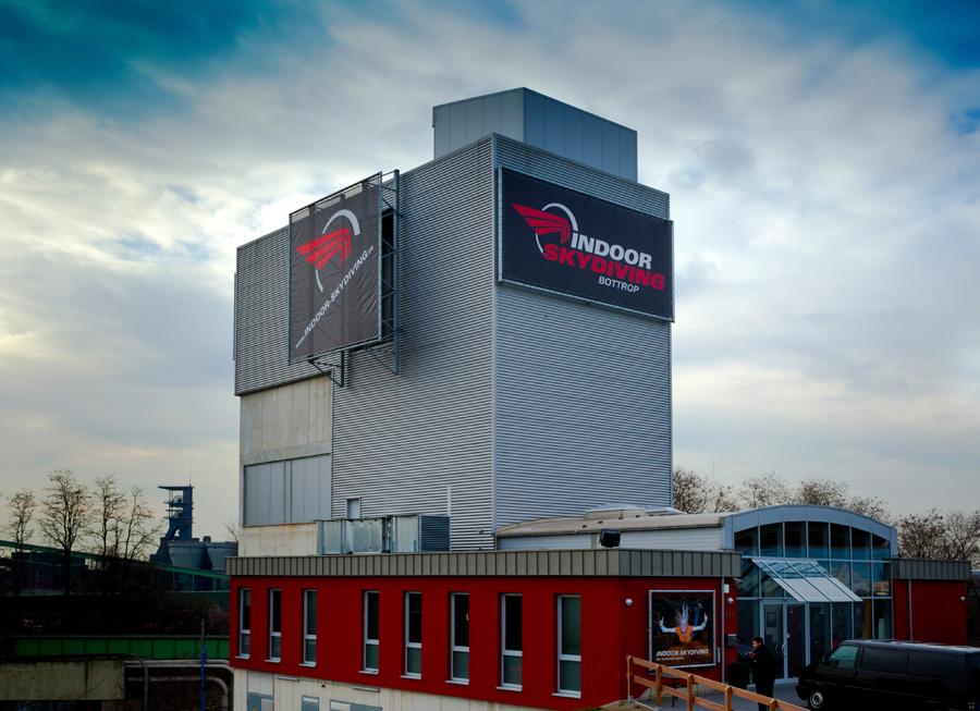 Indoor Skydiving Bottrop Ausflugstipp Ruhrgebiet