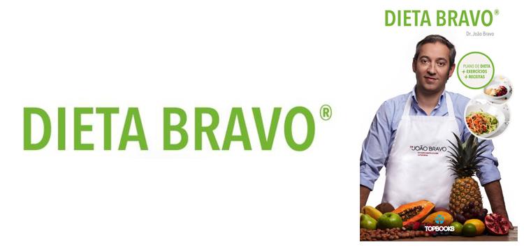 "Capa do livro ""Dieta Bravo"""