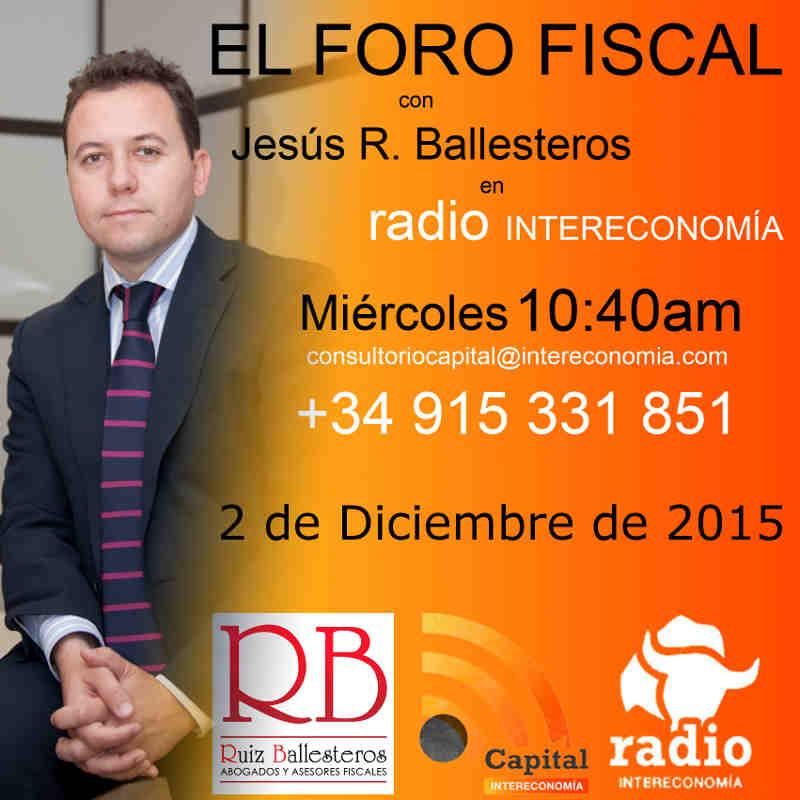 el foro fiscal 2 diciembre 2015 optimo 2