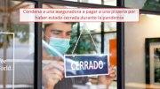 Condena a una aseguradora a pagar a una pizzería por haber estado cerrada durante la pandemia