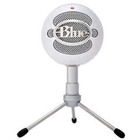ACCESORIOS DE PC- Blue Microphones Snowball iCE - Micrófono de condensador (cardiode, conector USB), color blanco