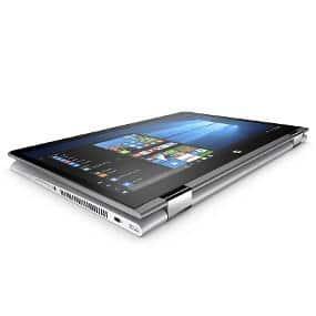"HP Pavilion x360 14-ba001ns - Ordenador portátil convertible de 14"" HD (Intel Core i3-7100U, 4 GB RAM, 500 GB HDD, Intel HD Graphics 620, Windows 10); Plateado - Teclado QWERTY Español"