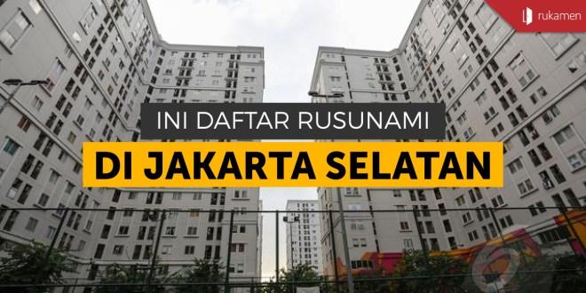 Rusunami di Jakarta Selatan