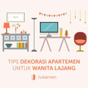 Tips Dekorasi Apartemen Untuk Wanita Lajang