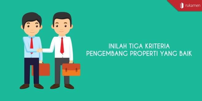 kriteria pengembang properti