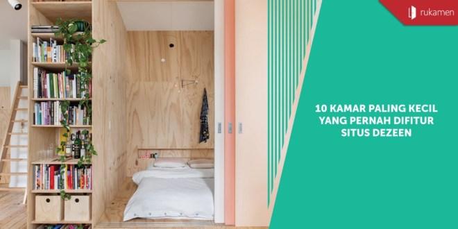 10 Kamar Paling Kecil Yang Pernah Difitur Situs Dezeen