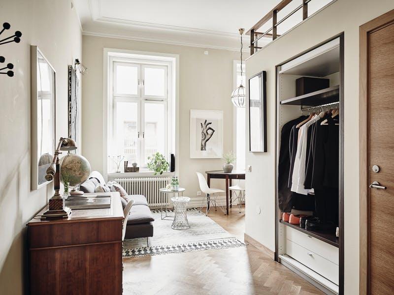 Apartemen Swedia Dengan Luas 34m2 Ini Memiliki Dapur Yang Indah