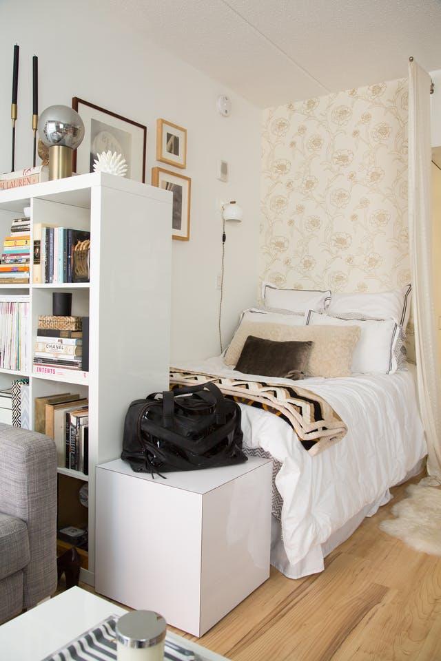 Cara Pintar Menciptakan Kamar Tidur di Apartemen Studio