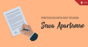 Contoh Surat Perjanjian Sewa Apartemen