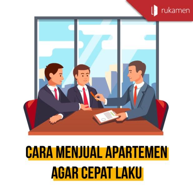 cara menjual apartemen