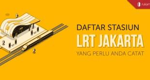 Daftar Stasiun LRT