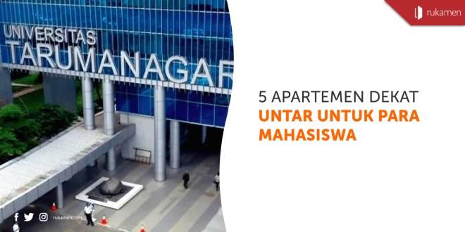 Apartemen dekat UNTAR