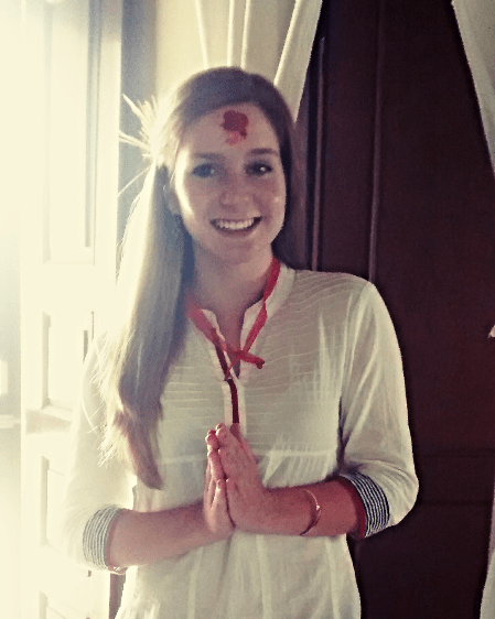 Namaste from Katie
