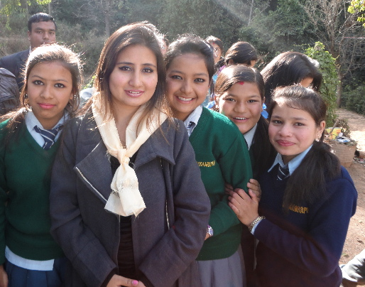 Anju Panta Inspires Rukmini Scholars