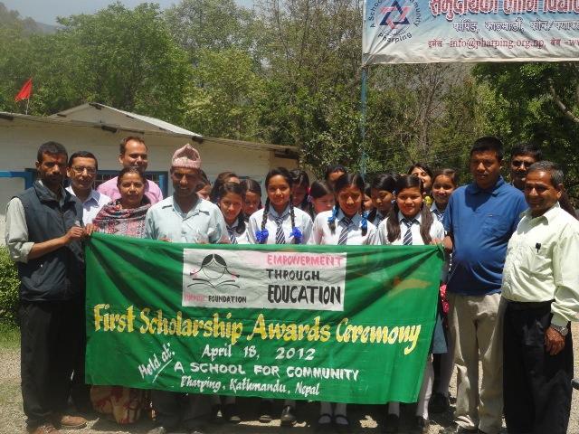 Inaugural Scholarship Awards Ceremony - Group Shot