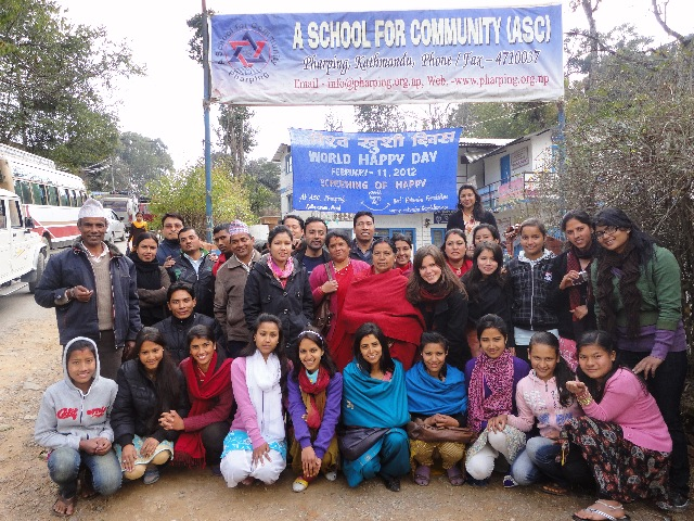 Rukmini Scholars Along with School Staff and Local Leaders Were Happy to See this Documentary