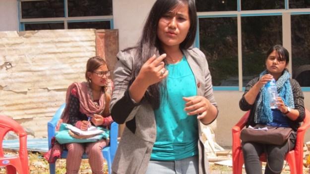 Kalpana, Staff Nurse of Manmohan Hospital as Didi2