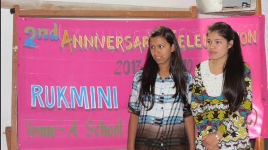 MCs Junu and Sandhya