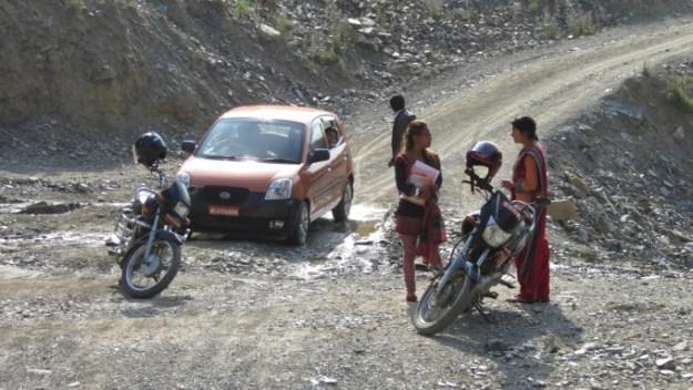 RF Team on the off road