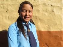 pooja in school uniform
