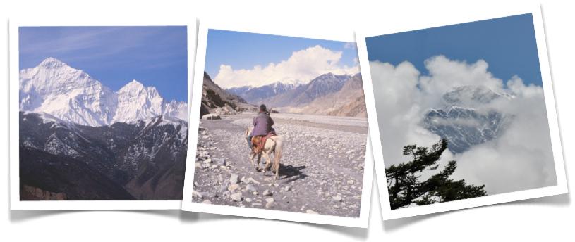 Beautiful scenery of Nepal