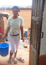 Visting Sushmita @ Home