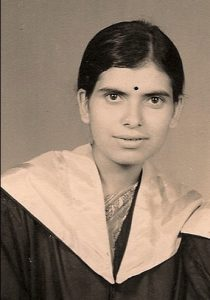 A picture of me as a graduate from Tribhuvan University with a MA in Economics.