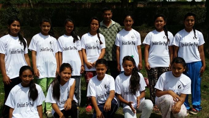 Team Pharping_Group Pic with Teacher Sri Krishna