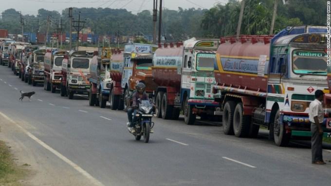 Results of Nepal Blockade