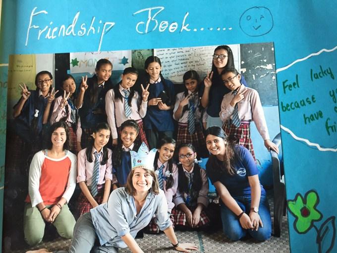 Book on Friendship created by Bhaktapur