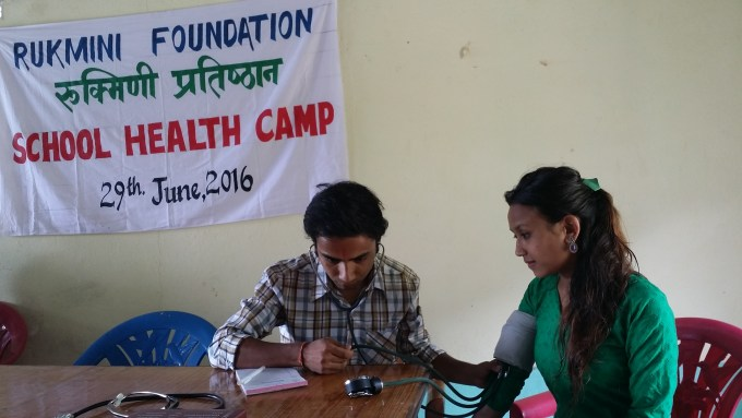 Pramila Didi grabs the opportunity to see a doctor