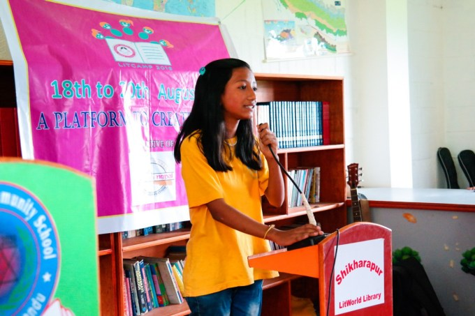 Shristi from Shikharapur shares her experience about Litcamp 2016