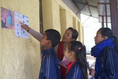 Shreejana Didi explaining about Coronavirus