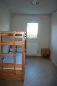 Chambre 2 places lits superposés Equicentre Rulan Trégastel Bretagne