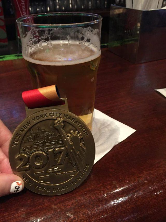 New York Marathon Medal 2017