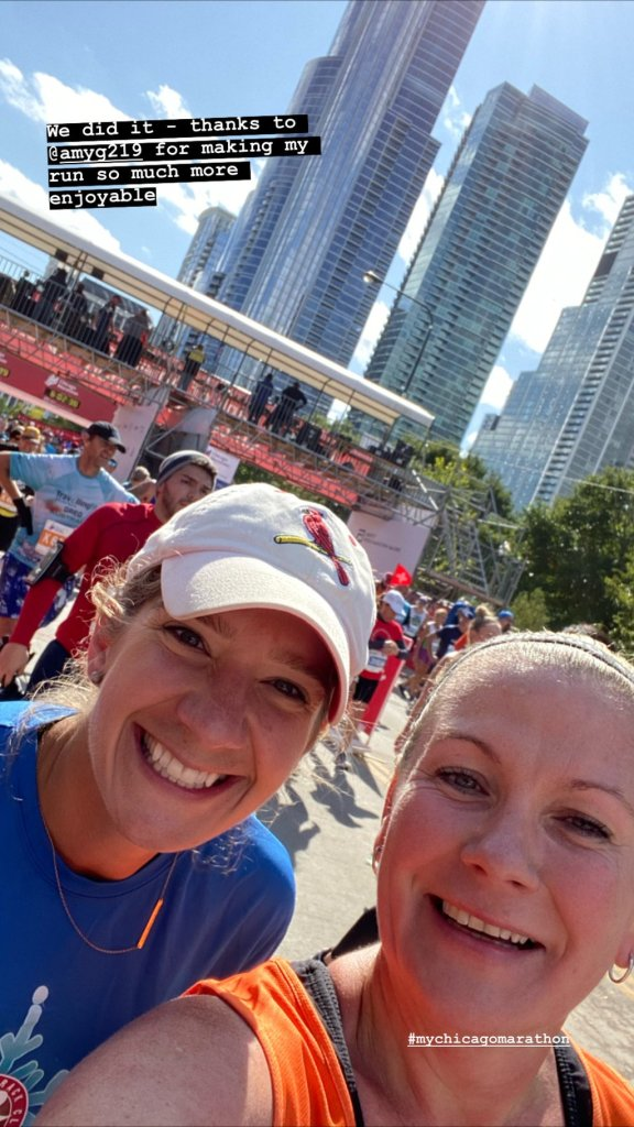 Finish line selfies.