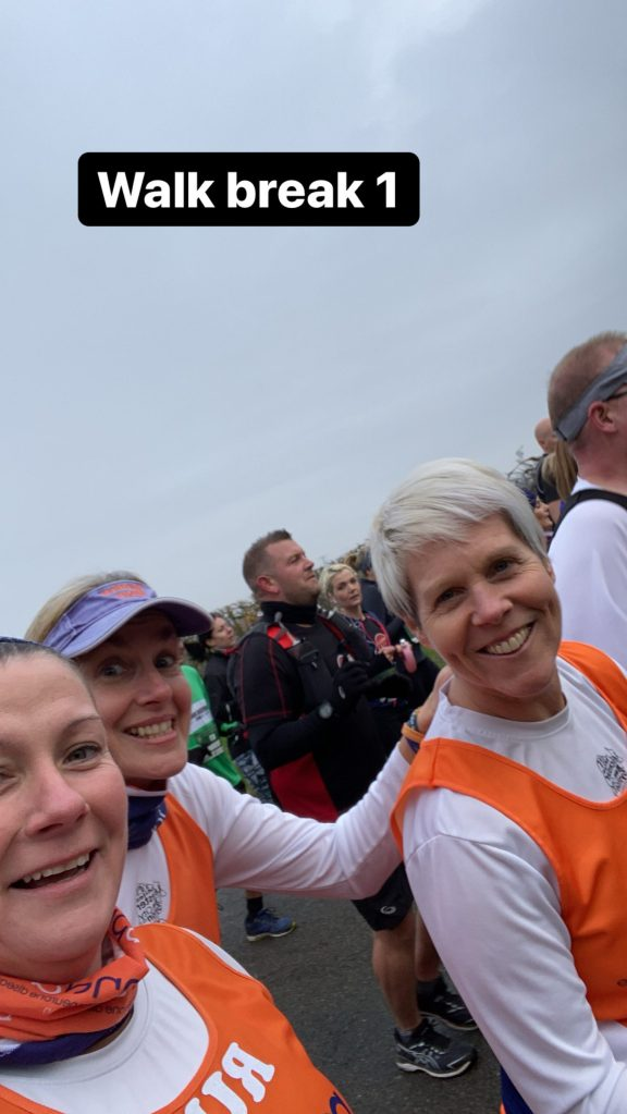 Mid Race selfies at St. Neots Half Marathon 2019