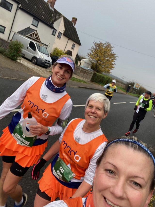 Mid race selfie Photo at St. Neots half marathon 2019