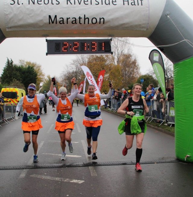 Finish Line  Photo at St. Neots half marathon 2019