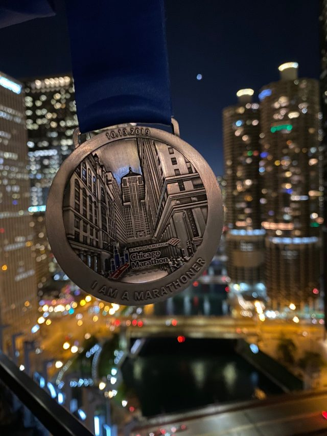 Chicago Marathon Medal 2019