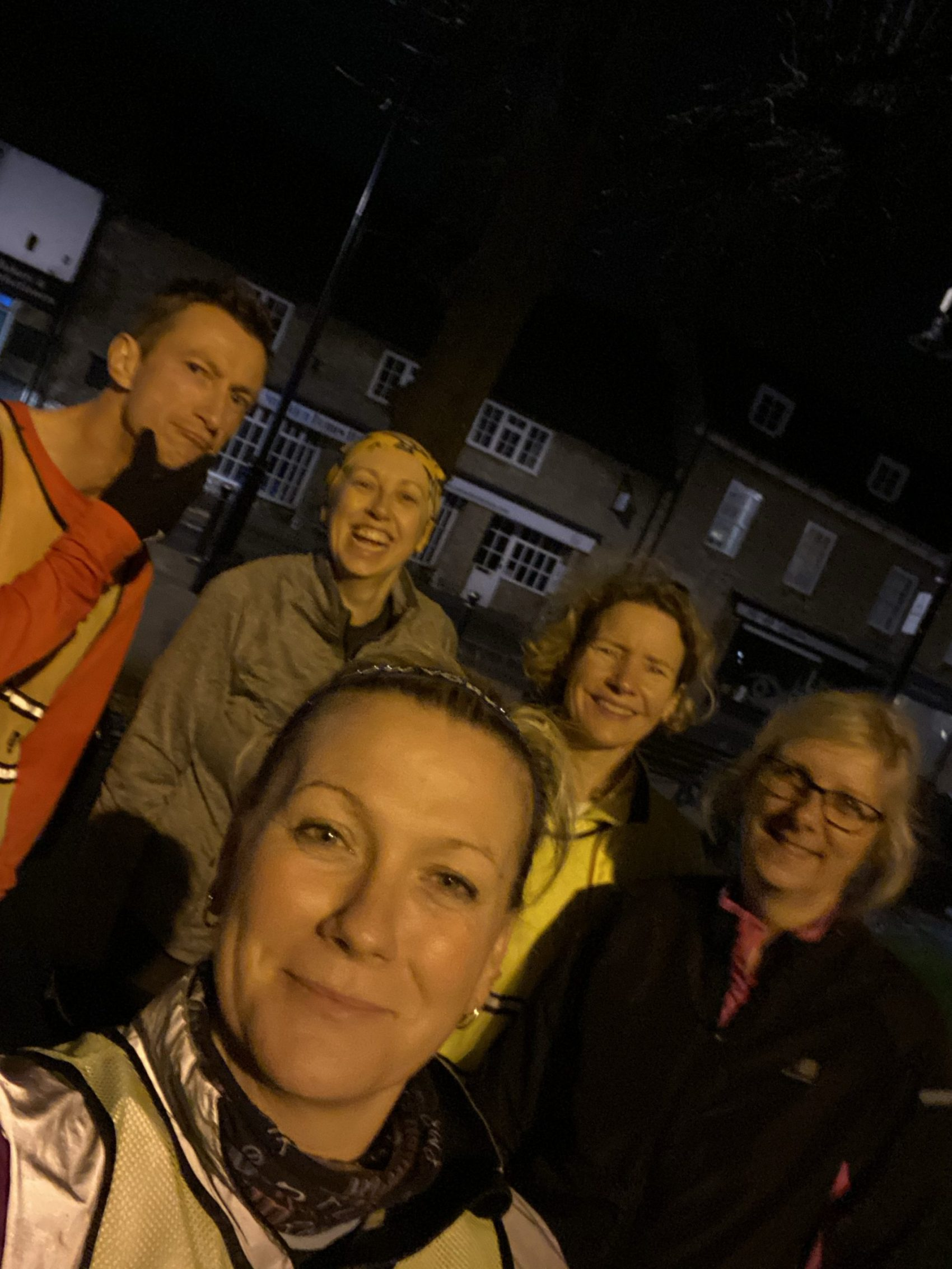 Manchester Marathon Week 4 - run club squad photo