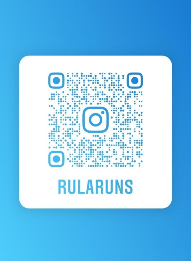 Rularuns Instagram QR CODE