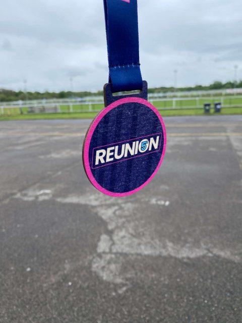Reunion 5K Medal - rularuns